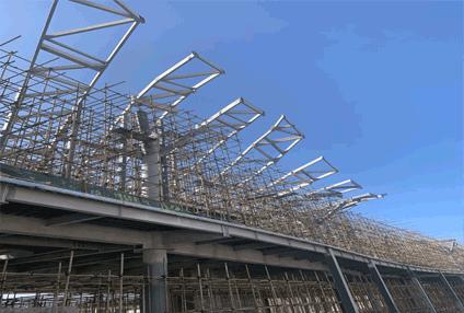 海南三亚西岛游客中心项目;45000平方