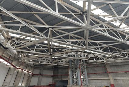 深圳东部电厂项目:防火涂料施工面积236000平方